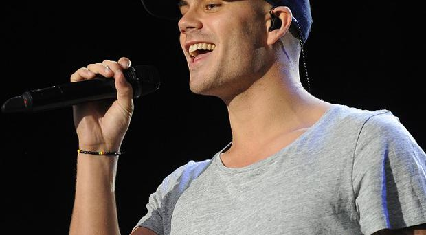 Max George has made a record with Flo Rida