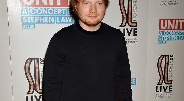 Ed Sheeran doesn't think of himself as a heartthrob