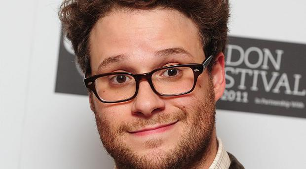Seth Rogen has spoofed the new Kanye West video with pal James Franco