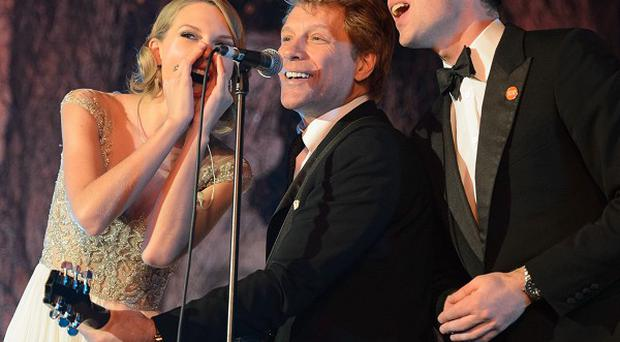 Prince William sang with Taylor Swift and Jon Bon Jovi at the Centrepoint Gala Dinner