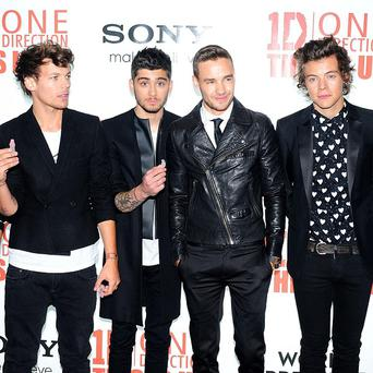 One Direction's Midnight Memories has gone in at number one on the album chart