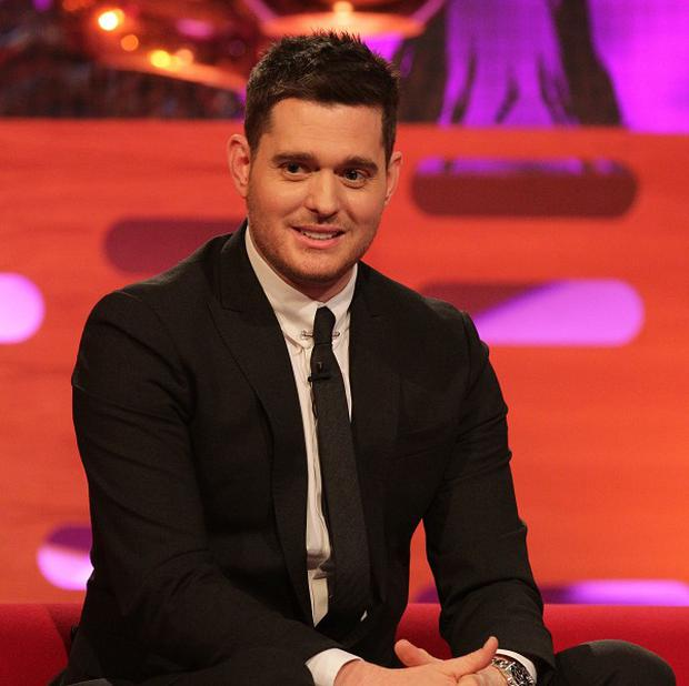 Michael Buble has revealed he has a darker side