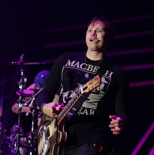 Blink 182 played at the Reading Festival in 2010