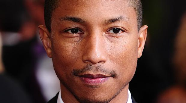 Pharrell Williams collaborated with Robin Thicke and Daft Punk this year