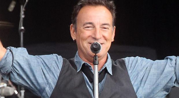 A Bruce Springsteen manuscript has sold at auction