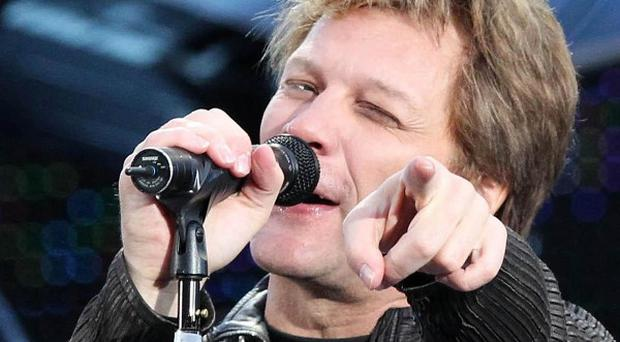 Bon Jovi was the highest grossing touring act in the world in 2013