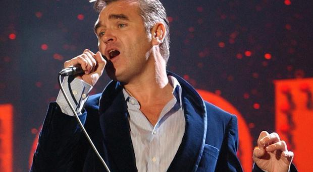 Morrissey has donated a signed autobiography to charity