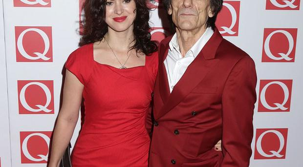 Ronnie Wood said his wife Sally Humphreys has been mistaken for his daughter