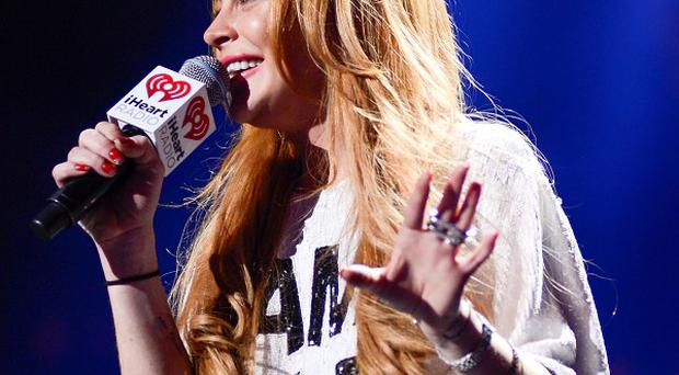 Lindsay Lohan could be turning her hand to music