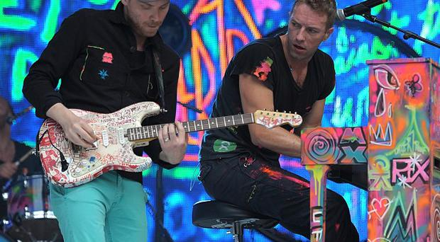 Coldplay performed at a staff Chrismas party in a pub