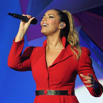 Leona Lewis has been working with producer Poet