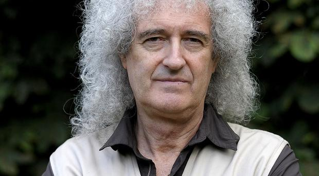 Brian May has spoken of his cancer fears