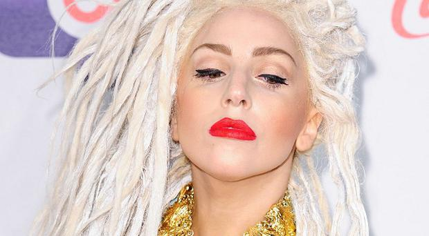 Lady Gaga has made an official recording of her duet with Christina Aguilera