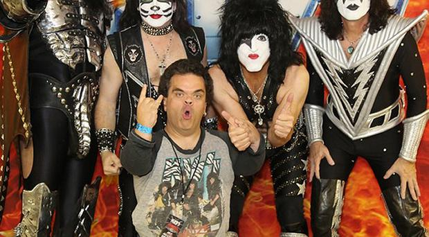 Dan Griffiths has spent thousands on merchandise and following Kiss around the world