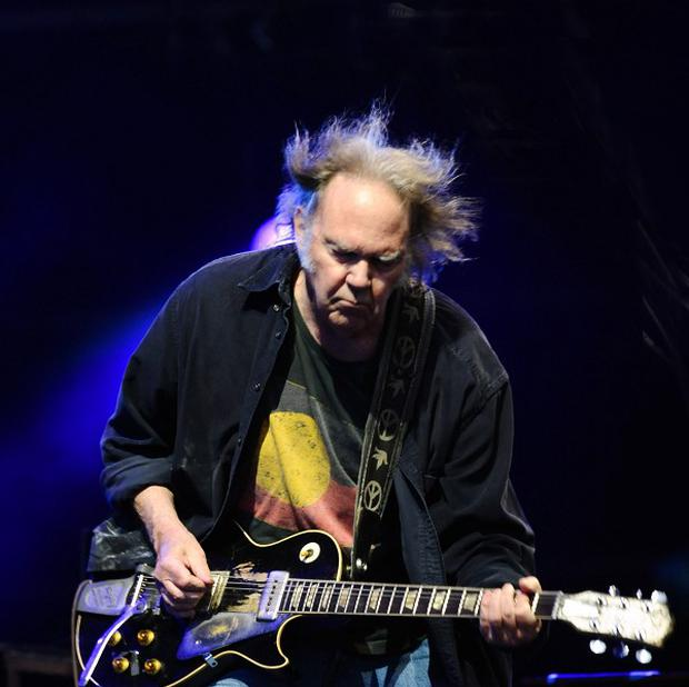 Neil Young told off the audience during a performance in New York