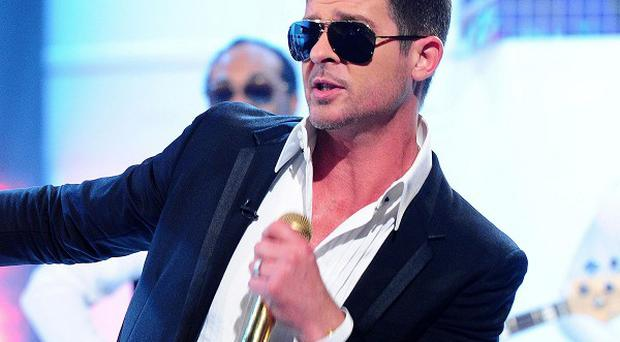 Robin Thicke had a massive hit with Blurred Lines
