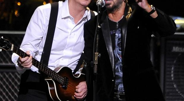 Sir Paul McCartney and Ringo Starr will perform at the Grammys