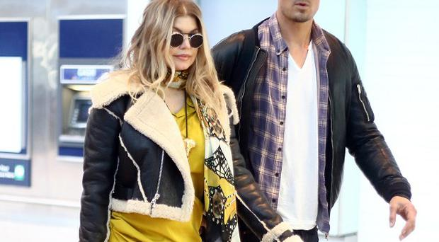Josh Duhamel has slammed reports claiming that he is persuading his wife Fergie to distance herself from the Black Eyed Peas