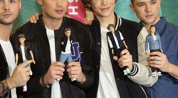 Union J and their dolls