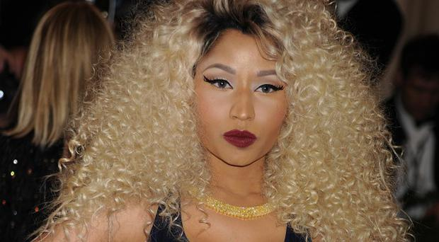 Nicki Minaj claimed her photo had been retouched