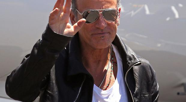Bruce Springsteen has arrived in South Africa