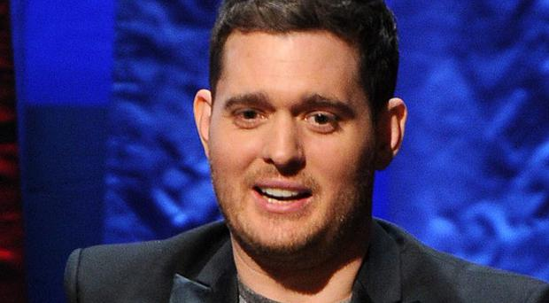 Michael Buble was among the early winners at this year's Grammys