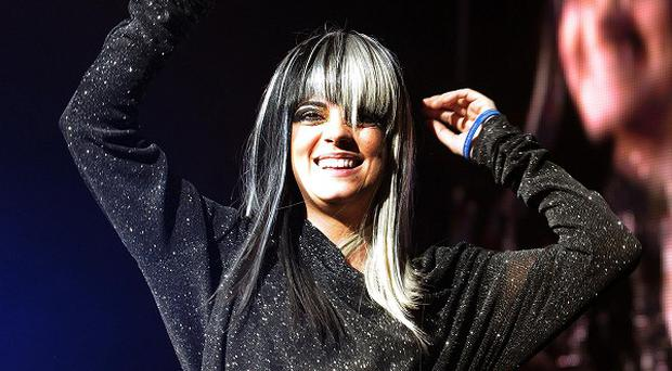 Lily Allen has returned to the charts