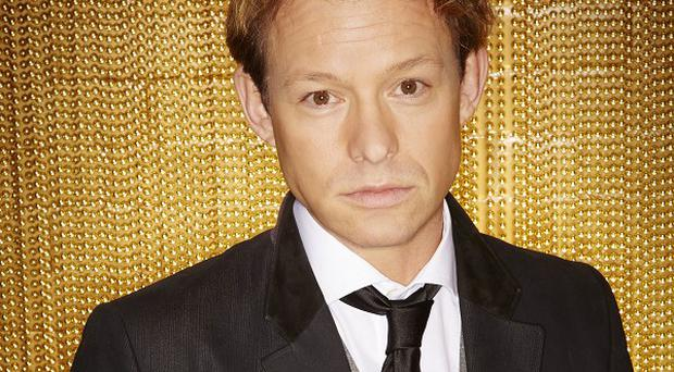 Adam Rickitt is part of super-group 5th Story on ITV2's The Big Reunion