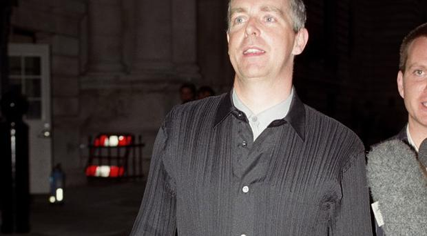 Neil Tennant from the pop band Pet Shop Boys