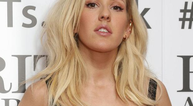 Ellie Goulding arrives for the Brits nominations