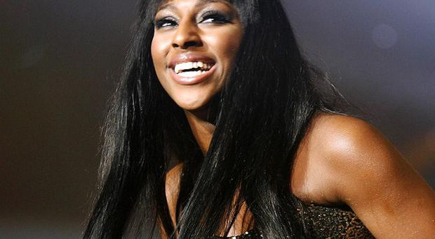 Alexandra Burke shot to fame on The X Factor