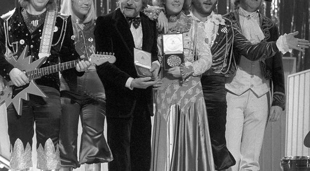 Abba at the 1974 Eurovision Song Contest