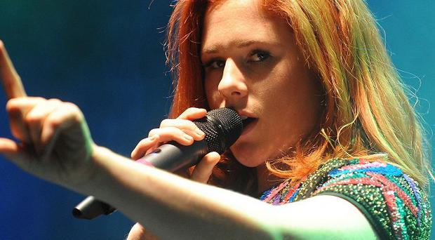 Katy B's album Little Red went straight to the top of the chart