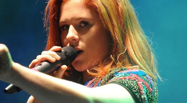 Katy B is currently topping the charts