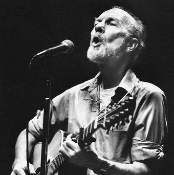 Pete Seeger was honoured at the Radio 2 Folk Awards (AP)