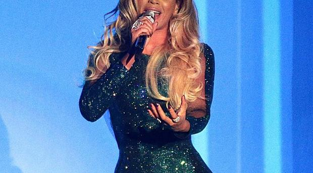 Beyonce performed at the Brits before heading to Glasgow
