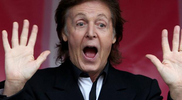 Sir Paul McCartney was celebrated by fellow songwriters with a special one-off prize at the NME Awards