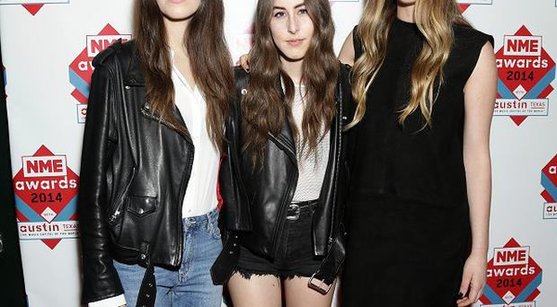 Haim are sisters Danielle, Alana and Este