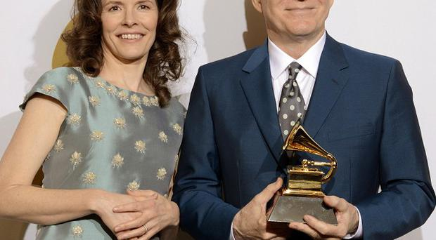 Steve Martin is writing a Broadway show with musical collaborator Edie Brickell