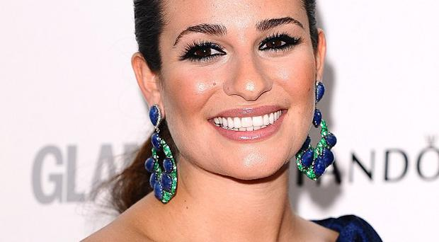 Lea Michele said music helped her deal with her loss