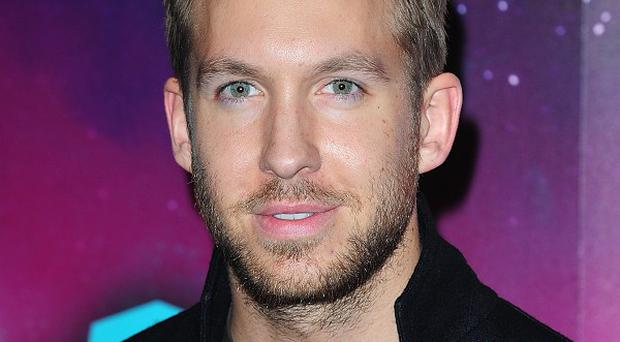 Calvin Harris has been busy working on new music