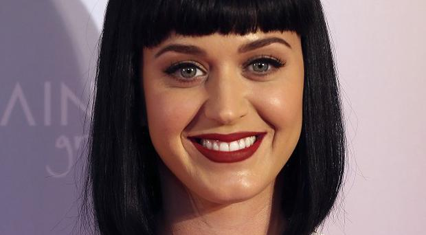 Katy Perry is promoting her Prismatic World Tour