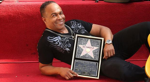 Ray Parker Jr has been honoured with star on the Hollywood Walk of Fame (Rex)