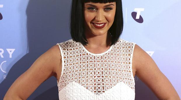 Katy Perry joked that she will spank Miley Cyrus