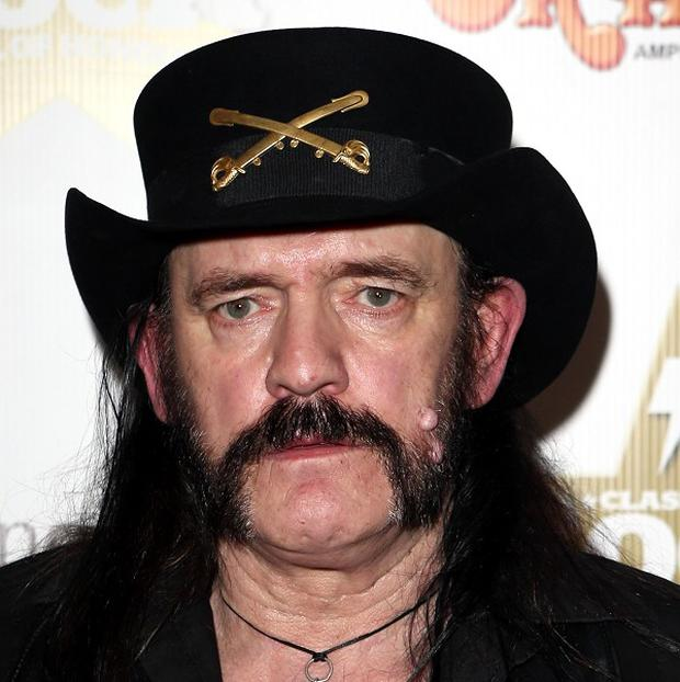 Lemmy is shipping a bronze of himself from Wales to his home in California