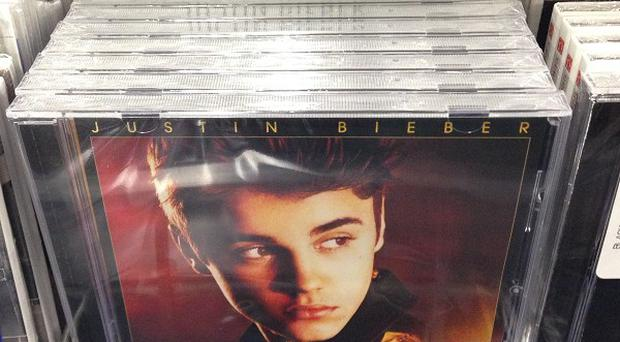 Fake copies of Justin Bieber's album were planted in LA stores on April Fools' Day