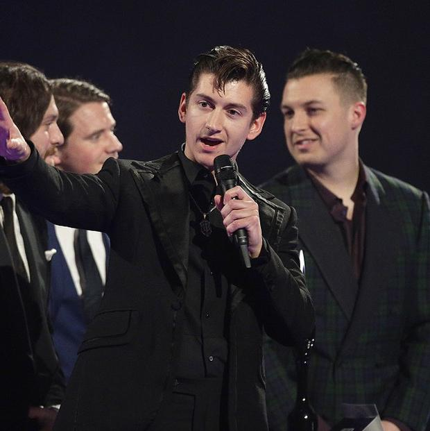 Alex Turner of the Arctic Monkeys is shy despite being a frontman