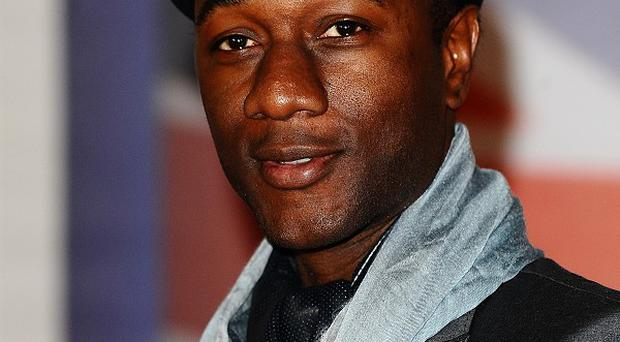 Aloe Blacc has topped the singles chart