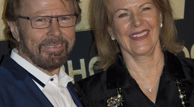 Abba's Bjorn Ulvaeus and Frida Lyngstad celebrate with an anniversary party at the Tate Modern