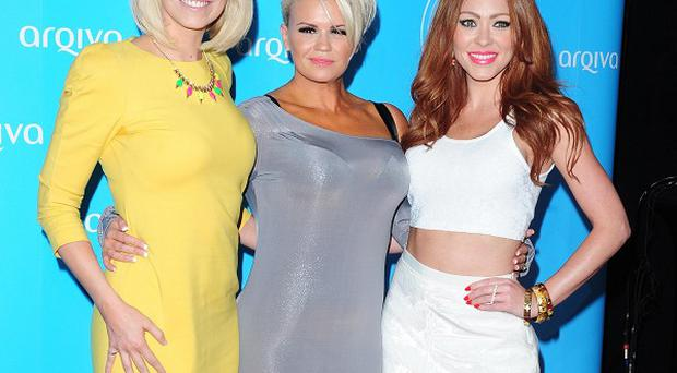 Liz McClarnon, Kerry Katona and Natasha Hamilton of Atomic Kitten